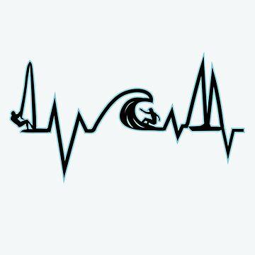Sea Heartbeat ( Black and Blue ) by SamielLair