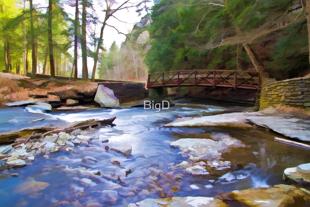 Peaceful Bridge by BigD