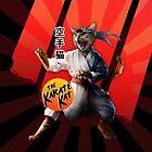 Karate Kat - Master Meowgi (80s Movie Cat Parody) by ThisOnAShirt