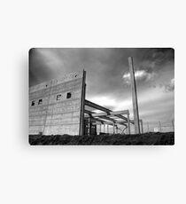 Industrial crysis Canvas Print