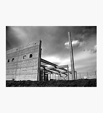 Industrial crysis Photographic Print