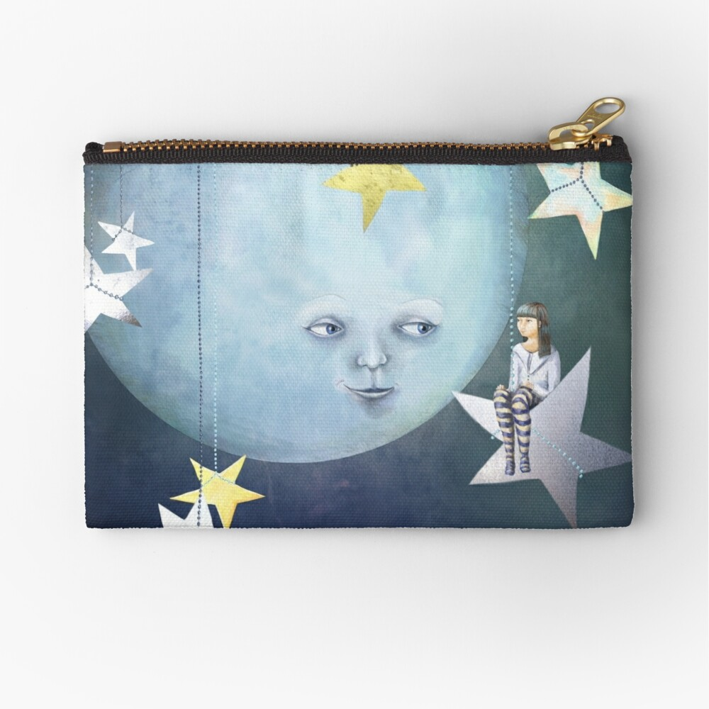 Hanging with the Stars Zipper Pouch
