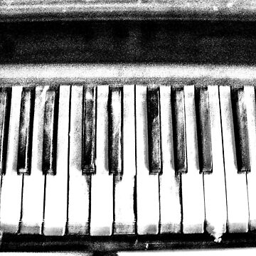 Eerie Piano Keyboard by dooley