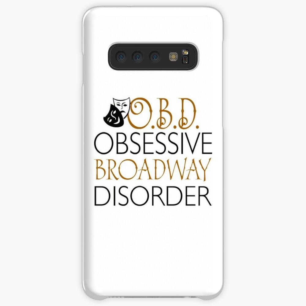 O.B.D. Trastorno obsesivo de Broadway. Funda y vinilo para Samsung Galaxy