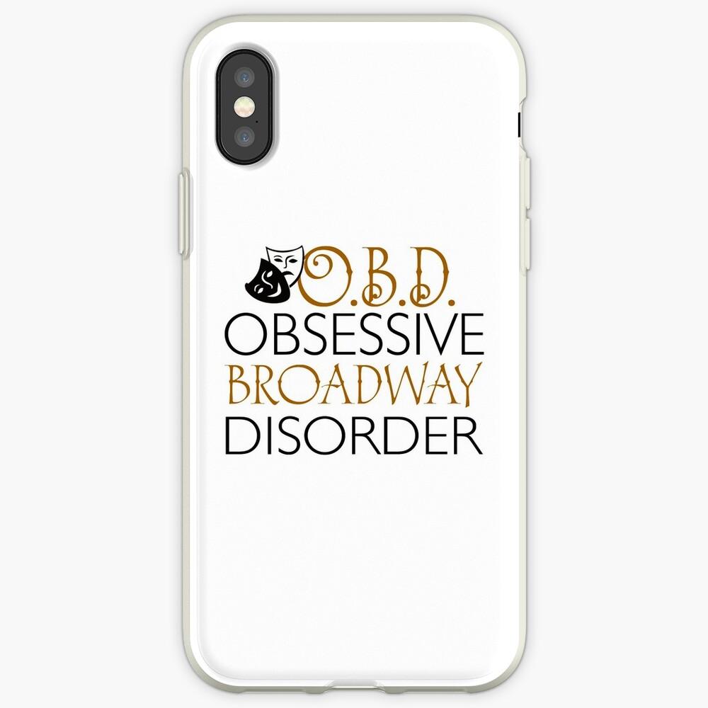 O.B.D. Trastorno obsesivo de Broadway. Funda y vinilo para iPhone