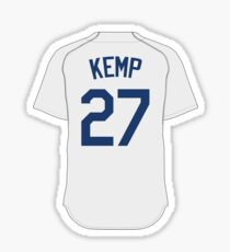 LA Dodgers - Matt Kemp Sticker