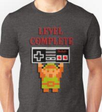 Retro Zelda   Level Complete Unisex T-Shirt