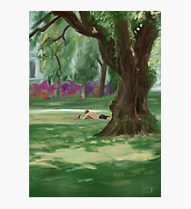 Summer in the Park Photographic Print
