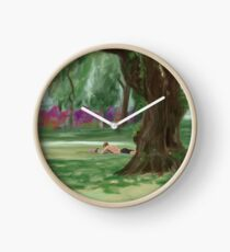 Summer in the Park Clock
