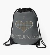 I LOVE OUTLANDER Drawstring Bag