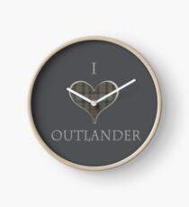 I LOVE OUTLANDER Clock