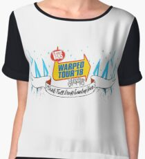 Warped Tour 2018 Logo Chiffon Top