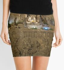 Wieliczka Salt Mines Mini Skirt