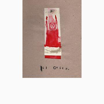 Red Queen T by rebeccagozion