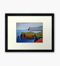 Doon Point and Glen Head, Donegal, Ireland Framed Print