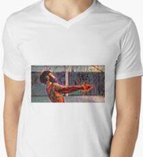 Donald Glover Art  Men's V-Neck T-Shirt