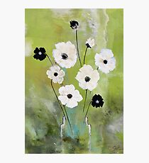 Flower vase Photographic Print