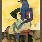 BirdHead/Pittsburgh No. 9 T by ReBecca Gozion