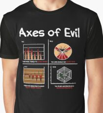 Math Science Funny Mathematics Teacher Axes Of Evil Gift Graphic T-Shirt