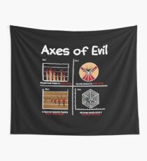 Math Science Funny Mathematics Teacher Axes Of Evil Gift Wall Tapestry