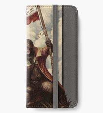 Fallout NCR Ranger Flag Fan Art Poster iPhone Wallet/Case/Skin