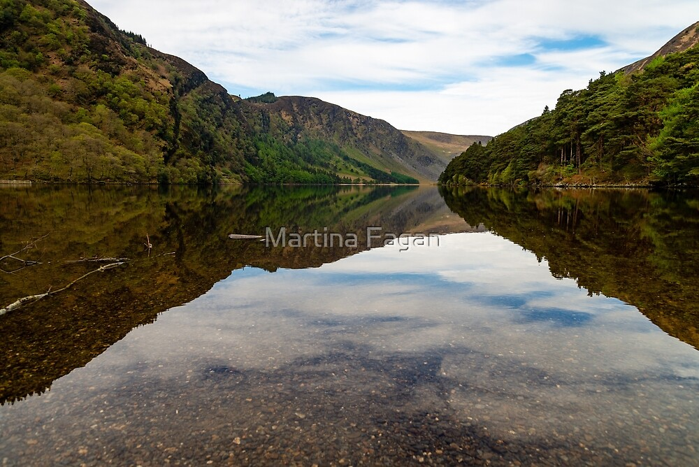 Upper Lake Glendalough, Co Wiclow by Martina Fagan