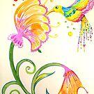 Heavenly Hummingbird 1 by jonkania