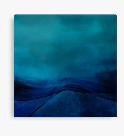 Storm Water Canvas Print