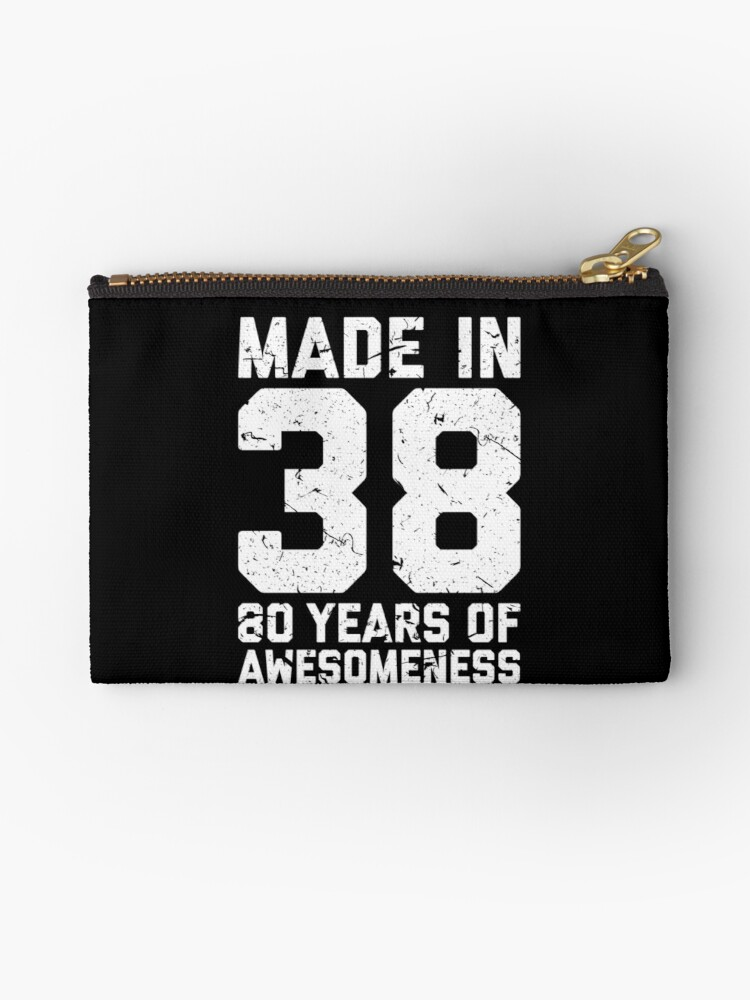 80th Birthday Gift Adult Age 80 Year Old Men Women