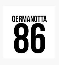 'GERMANOTTA 86'  Photographic Print
