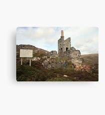 Allihies mines Canvas Print