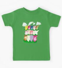 tulips and clouds Kids Clothes