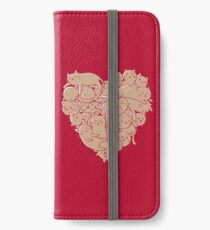 I Love Cats Heart iPhone Wallet/Case/Skin