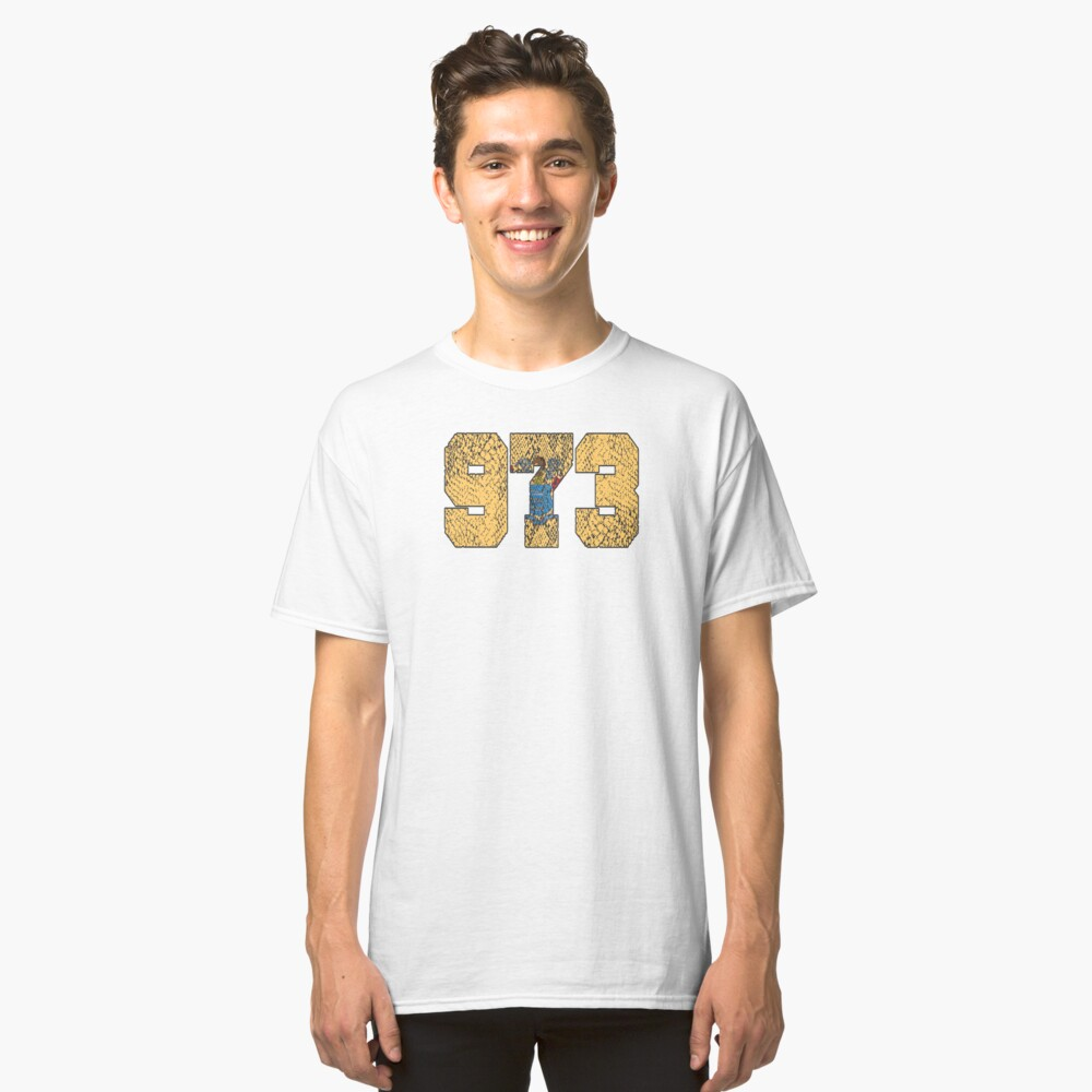 ALWAYS REPPIN' THE 973 Classic T-Shirt Front