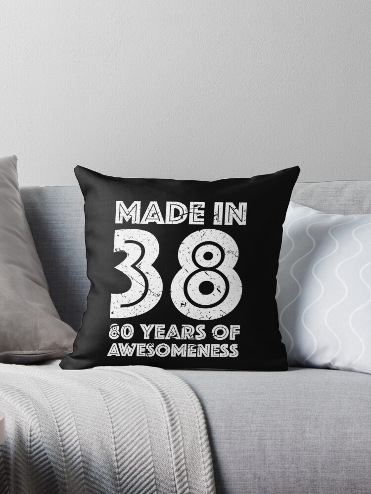 80th Birthday Gift Adult Age 80 Year Old Men Women By Matt L