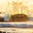 Crashing Waves, Redgate Beach, Margaret River Region by Dave Catley