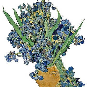Flores van gogh de cedougherty