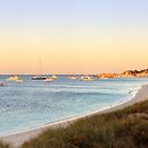 Rotto Sunset Part 2, Longreach Bay, Rottnest Island by Dave Catley
