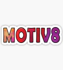 Motiv8 Motivate Sticker