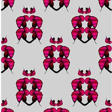 Cool Retro Floral Design by EMAGICSTUDIOS