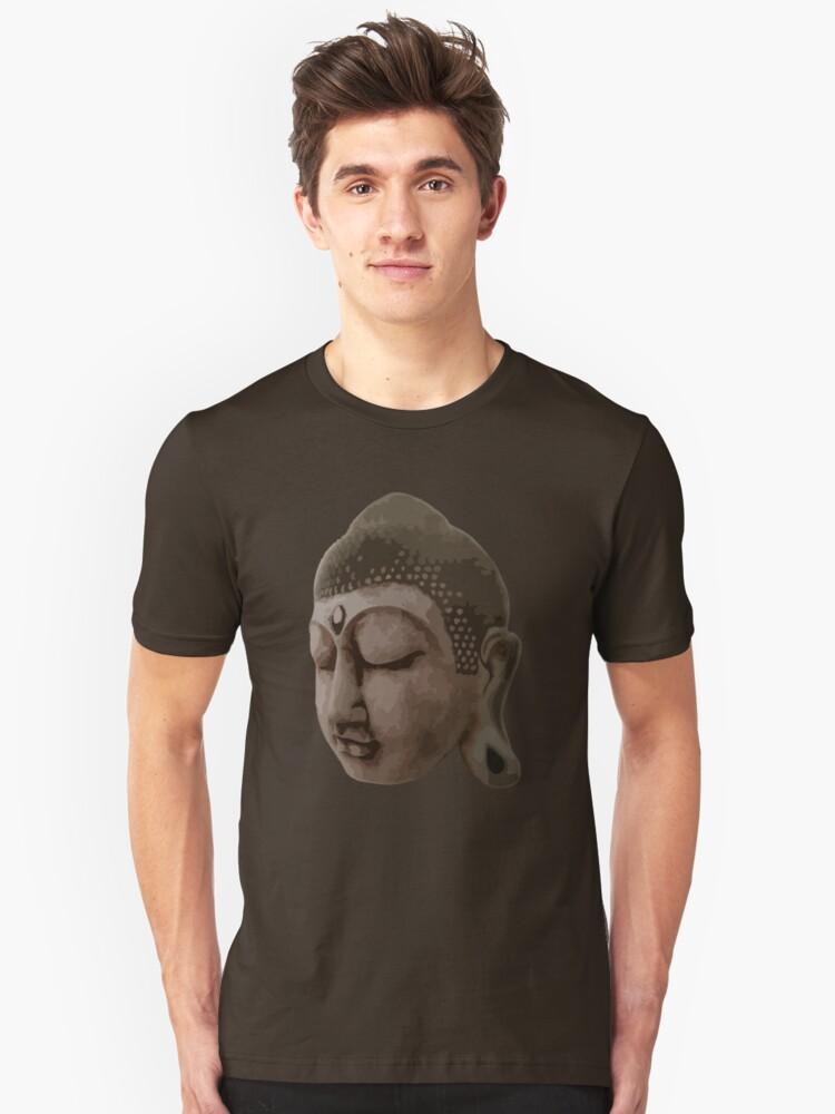 Buddha Unisex T-Shirt Front