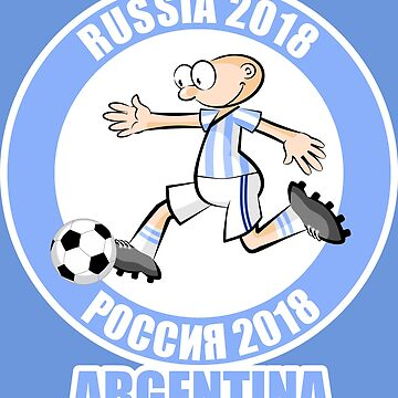Argentina in the Soccer World Cup Russia 2018 by MegaSitioDesign