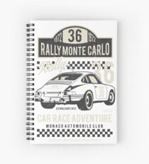 Rally Monte Carlo Spiral Notebook