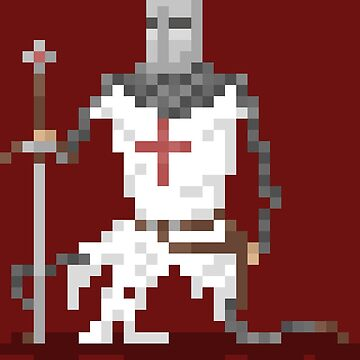 Pixel Knight by CreamFlakes