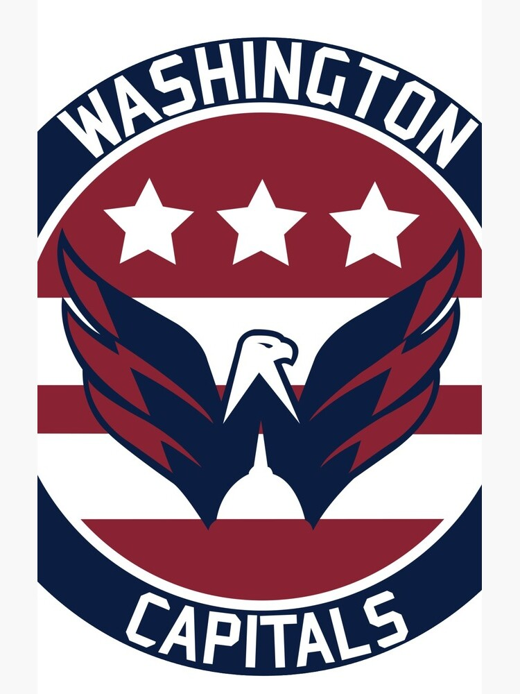 Washington Capitals Logo by DarienBecker