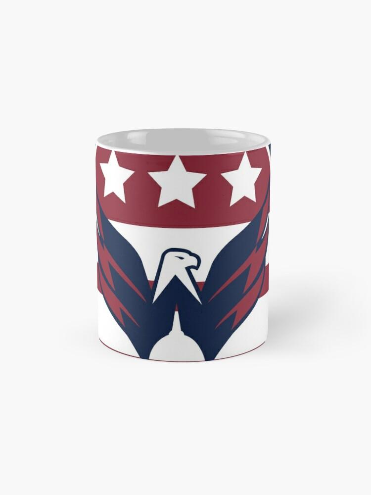 Alternate view of Washington Capitals Logo Mug