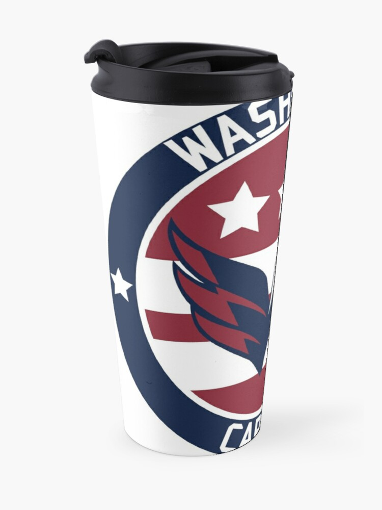 Alternate view of Washington Capitals Logo Travel Mug