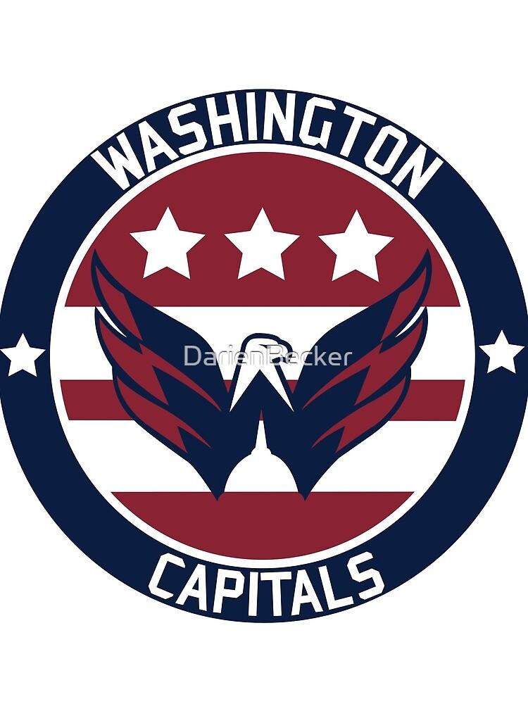 Washington Capitals Logo by DarienBecker