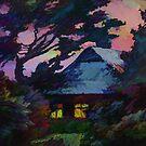 Light in Windows on Summer Evening by Oleg Atbashian