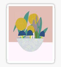 Ornamental Bowl Glossy Sticker